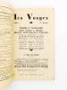 Les Vosges - Tourisme et villégiatures , Stations thermales et climatiques, hôtels, restaurants, garages, villas et logements à louer - édition 1937 ( ...