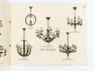Luminaires en bois sculpté K. L. ( KARCH, Lucien ) : Supplément catalogue 1933 + Tarif D.. K. L - KARCH, Lucien