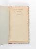 Discours de Réception à l'Académie Française le 16 juin 1921 [ Livre dédicacé par l'auteur ]. FLERS, Robert de