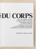 Les Outils du Corps. VELTER, André ; LAMOTHE, Marie-José