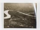 Lot de 3 clichés : photographies aériennes prises en Italie, près de San Dona di Piave, le 30 mai 1918 à 11 Heures : Vues obliques : San Dona di Piave ...
