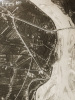 Photographie aérienne prise en Italie, près de Barbarana, le 30 mai 1918 à 15 Heures :  [ Fotografia aerea in Italia, sul fronte vicino a Barbarana, ...