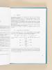 Paramètres de la qualité des eaux.. BREMOND, R. ; PERRODON, C.
