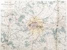 Nouvelle Carte des Environs de Paris dans un rayon de quinze lieues. GAVARD, Ch.