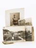 Lot de 16 photographies militaires du Polytechnicien André Boucher [ Promotion 1912 ] durant la période 1912-1918. Dont : Revue de l'Ecole ...