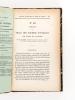 Annales des Ponts et Chaussées. Mémoires et Documents relatifs à l'Art des Constructions et au Service de l'Ingénieur, lois, décrets, arrêtés et ...