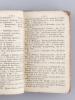 Almanach Général de la Préfecture de la Gironde, pour l'an XI de la République (du 23 Septembre 1802 au 23 Septembre 1803) [ Edition originale ]. ...