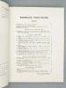 Bordeaux vous invite... ( Bordeaux et le Sud-Ouest, revue économique trimestrielle , n° 2, 2e trimestres 1949 : Bordeaux vous invite à visiter sa ...