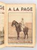 A la Page. L'Hebdomadaire des Jeunes (Du n°1  du 1er janvier 1931 au n°53 du 31 décembre 1931 : Deuxième Année complète). Collectif