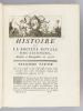 Histoire de la Société Royale des Sciences, établie à Montpellier avec les Mémoires de Mathématiques et de Physique, tirés des Registres de cette ...