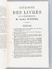 Catalogue de la Bibliothèque de feu M. André Pottier, Chevalier de la Légion d'Honneur, Conservateur de la Bibliothèque publique et du Musée Céramique ...