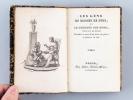 Les Gens en Bonnet de Nuit, et le Bonheur des Sots, Tableaux de Moeurs. Précédés et suivis d'un choix de pièces en prose et en vers . Anonyme