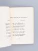 Petits airs d'automne [ Livre dédicacé par l'auteur - Edition originale ]. ZENNER, Paul