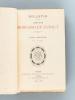 Bulletin de la Librairie Morgand et Fatout. Tome Premier N° 1 à 4562 [ Edition originale ]. MORGAND, Damascène