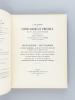 Bibliothèque de Monsieur Ch.-L. Fière Bibliophile Dauphinois. Manuscrits Livres Rares et Précieux des XVe, XVIe et XVIIe siècles. Vente du 15 Mai 1933 ...