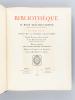 Bibliothèque de M. Rene Descamps-Scrive. Deuxième Partie : Livres de la période romantique. Grands Ecrivains et Auteurs divers. Livres illustrés du ...