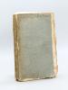Catalogue des Livres provenant du Fonds d'Ancienne Librairie du Citoyen J. G. Mérigot [ Edition originale ] dont la Vente se fera le 24 Frimaire an IX ...