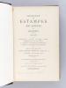[ Recueil de Catalogues d'Estampes par Loys-Delteil ] N° 247 6 novembre 1911 Estampes du XVIIIe Siècle Hôtel Drouot  / N° 248 Estampes anciennes et ...