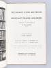 Très Beaux Livres Modernes, Importantes reliures Mosaïquées composant la Bibliothèque de M. Paul Bonet, Relieur. Vente à Paris, Hôtel Drouot, Jeudi 23 ...