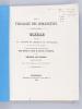 De la Trasalgie des Adolescents [ Edition originale - Livre dédicacé par l'auteur ] Thèse présentée à la Faculté de médecine de Strasbourg et soutenue ...