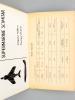 Guet aérien toutes armes, Section IV Renseignements, Silhouettes, Photos (fiches 401 à 438). E.M.A. (Etat-Major des Armées) - 3e Bureau