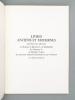 Livres anciens et modernes , provenant des collections de Madame la Baronne E. de Rothschild, de Monsieur P., de Madame Turpin, de l'ancienne ...