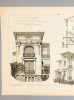 Monographies de Bâtiments Modernes -  Villa Durango au Cannet à Cannes (Alpes Maritimes), Mr. J. Warnery, Architecte. DUCHER FILS (édit.) ; RAGUENET, ...