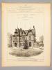 Monographies de Bâtiments Modernes -  Villa aux délices à Genève, Suisse. Mrs. Camoletti frères, Architectes. - Villa à Lassigny (Oise), Mrs. ...