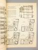 Monographies de Bâtiments Modernes -  Hôtel particulier à Madrid (Espagne), à l'angle de la Calle Fernando VI et de la Calle Pelayo. Don Jose GRASES y ...
