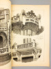 Monographies de Bâtiments Modernes -  Maison à loyer, rue de Gênes et rue Bertola, à Turin, Italie. Mrs. A. Riccio et G. Vellati-Bellini, Architectes. ...