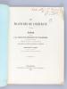 Des Fractures de l'Olécrane. Thèse présentée à la Faculté de Médecine de Strasbourg, soutenue le 15 janvier 1868 [ Edition originale - Livre dédicacé ...