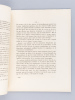 Du liquide céphalo-rachiden. Thèse présentée à la Faculté de Médecine de Strasbourg, soutenue le 14 janvier 1869 [ Edition originale - Livre dédicacé ...