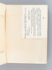 Lettres de Jeunesse Italie - Allemagne 1880-1883 [ Edition originale ]. JULLIAN, Camille ; (COURTEAULT, Paul)
