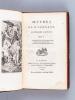 Oeuvres de M. Léonard (3 Tomes - Complet). LEONARD, Nicolas Germain