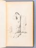 Myrrha Vierge et Martyre [ Exemplire du tirage de tête avec un dessin original de Louis-Edouard Fournier ]. LEMAITRE, Jules ; (FOURNIER, ...