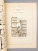 Monographies de Bâtiments Modernes - Hôtel Rue Juliette Lamber N° 7 à Paris. DUCHER (édit.) ; RAGUENET, A. (dir.) ; M. EVRARD (Architecte)