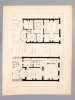 Monographies de Bâtiments Modernes - Hôtel Rue Jouffroy 60 à Paris, Mr. Morize Architecte. DUCHER (édit.) ; RAGUENET, A. (dir.) ; MORIZE, J. (Julien, ...