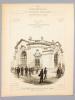 Monographies de Bâtiments Modernes - Exposition Universelle de 1900 , Pavillon de la Chambre de Commerce de Paris , Quai d'Orsay - Champ de Mars. ...