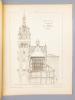 Monographies de Bâtiments Modernes - Hôtel-de-Ville de Loos (Nord), Mr. L. Cordonnier Architecte. DUCHER (édit.) ; RAGUENET, A. (dir.) ; CORDONNIER, ...