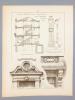 Monographies de Bâtiments Modernes -  Hôtel à Asnières (Seine), rue de Paris N° 27 , Mr. A. Bocage Architecte à Paris ; Hôtel à Asnières (Seine), rue ...