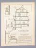 Monographies de Bâtiments Modernes -  Hôtel Particulier à La Baule (Loire Infér.), Mr. J. L. Deperthe Architecte. DUCHER (édit.) ; RAGUENET, A. (dir.) ...