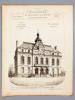 Monographies de Bâtiments Modernes - Mairie de la commune du Perreux (Seine), Mr. P. Mathieu Architecte [ désormais Hôtel-de-Ville, Le ...