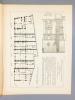 """Monographies de Bâtiments Modernes - Maisons de la Place Notre Dame à Amiens (Somme), Mr. E. Douillet Architecte [ dite """" Maison du Pélerin """", Parvis ..."""