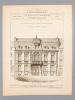 Monographies de Bâtiments Modernes -  Hôtel rue de Metz à Nancy (Meutrhe-et-Moselle), Mr. Ferdinand Genay Architecte.. DUCHER (édit.) ; RAGUENET, A. ...