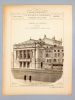 Monographies de Bâtiments Modernes - Théâtre de Verdun (Meuse), Mr. P. Chenevier Architecte [ Quai Leclerc, Verdun ]. DUCHER (édit.) ; RAGUENET, A. ...