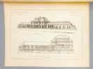 Monographies de Bâtiments Modernes -  Hospice Guy Gautier à Cognac (Charente), Mr. Alfred Leroux Architecte à Paris [ désormais : EHPAD - Maison de ...