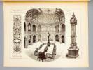 Monographies de Bâtiments Modernes -  Bourse de Madrid (Espagne), Mr. Enrique M. repulles y Vargas Architecte. DUCHER (édit.) ; RAGUENET, A. (dir.) ; ...