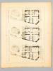 Monographies de Bâtiments Modernes - Hôtel rue de la Santé 45 et Boulevard Arago 82 à Paris, Mr. E. Guénot Architecte . DUCHER (édit.) ; RAGUENET, A. ...