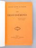 Les Eblouissements [ Edition originale - Livre dédicacé par l'auteur ]. NOAILLES, Comtesse Mathieu de ; [ NOAILLES, Anna de ]