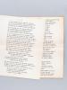 [ Deux tapuscrits de Paul Bellat : ] Noël [ On joint : ] Polyeucte Acte VI. Une fantaisie littéraire de Paul Bellat, Grand Prix Littéraire de ...